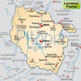 Lothringen Karte.Bildagentur Pitopia Bilddetails Karte Von Lothringen