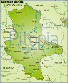 Karte Sachsen Anhalt.Bildagentur Pitopia Bilddetails Karte Von Sachsen Anhalt
