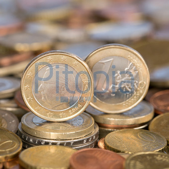 Bildagentur Pitopia Bilddetails 1 Euro Münze Aus Belgien Markus