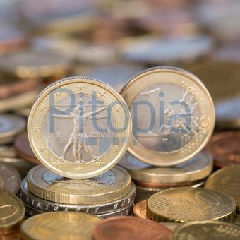 Bildagentur Pitopia Bilddetails 1 Euro Münze Aus Italien Markus