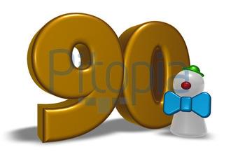 Bildagentur Pitopia Bilddetails Zahl Und Clown Drizzd Bild