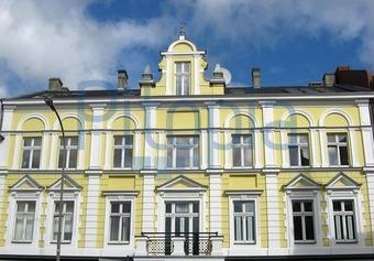 Bildagentur Pitopia Bilddetails Gelb Weisses Haus Gabelka Bild