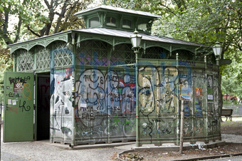 Bildagentur Pitopia - Bilddetails - öffentliche Toilette ... Offentliche Toilette Park Landschaft
