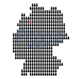 Bundesland Bremen Karte.Bildagentur Pitopia Bilddetails Karte Von Deutschland Aus Icons