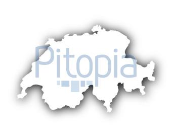 Schweiz Karte Schwarz Weiss.Bildagentur Pitopia Bilddetails Karte Der Schweiz Mit