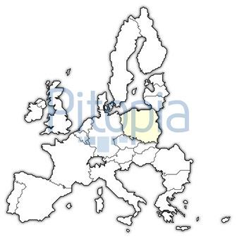 Polen Karte Umriss.Bildagentur Pitopia Bilddetails Karte Der Europaischen