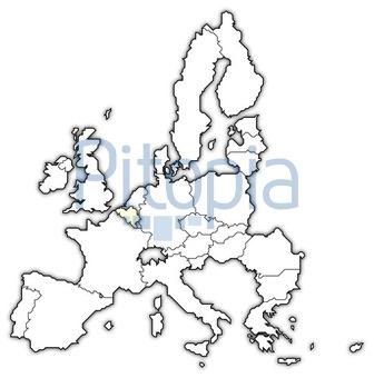 Belgien Karte Umriss.Bildagentur Pitopia Bilddetails Karte Der Europäischen Union