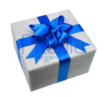 Bildagentur Pitopia Bilddetails Silber Geschenkpaket Mit